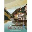 Star Editions Clifton Suspension Bridge, Bristol by Dave Thompson Vintage Advertisement