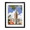 Star Editions Brixton, London by Dave Thompson Framed Vintage Advertisement