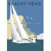 """Star Editions Poster """"Sailing at Beachy Head"""" von Dave Thompson, Retro-Werbung"""