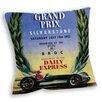 Star Editions Sofakissen Silverstone 5th R.A.C British Grand Prix Official Program