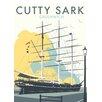 Star Editions Poster The Cutty Sark, Greenwich, London, Grafikdruck von Dave Thompson