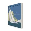 Star Editions Sailing at Beachy Head by Dave Thompson Vintage Advertisement Wrapped on Canvas