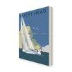 Star Editions Leinwwandbild Sailing at Beachy Head von Dave Thompson, Retro-Werbung