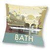 Star Editions Sofakissen Bath, The Georgian City by Dave Thompson