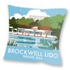 Star Editions Sofakissen Brockwell Lido, Herne Hill, London by Dave Thompson