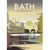 Star Editions Bath, The Georgian City by Dave Thompson Vintage Advertisement