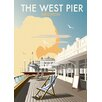 Star Editions The West Pier, Brighton by Dave Thompson Vintage Advertisement