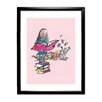 Star Editions Roald Dahl Matilda by Quentin Blake Framed Art Print