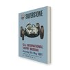 Star Editions Silverstone 13th International Trophy Meeting, Official Program Vintage Advertisement on Canvas