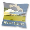 Star Editions Sofakissen The Seven Sisters, South Downs by Dave Thompson
