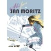 Star Editions Ski Fun in San Moritz by Dave Thompson Vintage Advertisement
