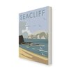 "Star Editions Leinwandbild ""Seacliff, East Lothian"" von Dave Thompson, Retro-Werbung"