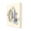 "Star Editions Leinwandbild ""Roald Dahl Charlie and the Chocolate Factory"", Kunstdruck von Quentin Blake"