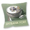 Star Editions Sofakissen Spitbank Fort, The Solent by Dave Thompson