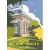 Star Editions Royal Botanic Garden, Edinburgh by Dave Thompson Vintage Advertisement
