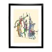 Star Editions Roald Dahl Charlie and the Chocolate Factory by Quentin Blake Framed Art Print