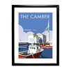 """Star Editions Gerahmtes Poster """"The Camber, Portsmouth"""" von Dave Thompson, Retro-Werbung"""