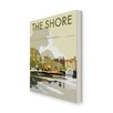 Star Editions The Shore, Leith, Scotland by Dave Thompson Vintage Advertisement Wrapped on Canvas