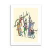 Star Editions Roald Dahl Charlie and the Chocolate Factory by Quentin Blake Art Print