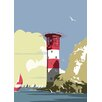 Star Editions Lighthouse by Dave Thompson Graphic Art