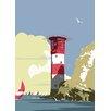 Star Editions Poster Lighthouse, Grafikdruck von Dave Thompson