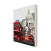 Star Editions London Routemaster by Dave Thompson Graphic Art Wrapped on Canvas