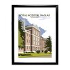 Star Editions Royal Hospital Haslar, Gosport by Dave Thompson Framed Vintage Advertisement