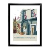 Star Editions Parmiters Antiques, Southsea by Dave Thompson Framed Vintage Advertisement