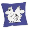 Star Editions Sofakissen Moomins Purple Moomintroll, Snorkmaiden and Little My