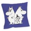 Star Editions Sofakissen Moomins Purple Moomintroll, Snorkmaiden and Little My