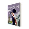 Star Editions London by Dave Thompson Vintage Advertisement on Canvas