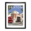 Star Editions Ritzy Cinema, Brixton by Dave Thompson Framed Vintage Advertisement
