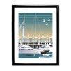 Star Editions Gerahmter Grafikdruck Gunwharf Quays, Portsmouth von Dave Thompson