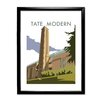Star Editions The Tate Modern, London by Dave Thompson Framed Vintage Advertisement