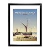 Star Editions Mersea Island by Dave Thompson Framed Vintage Advertisement