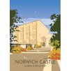 Star Editions Norwich Castle, Norfolk by Dave Thompson Vintage Advertisement