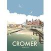 Star Editions Poster Cromer, Norfolk von Dave Thompson, Retro-Werbung