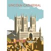 Star Editions Lincoln Cathedral by Dave Thompson Vintage Advertisement