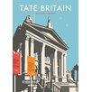 Star Editions Poster Tate Britain, Grafikdruck von Dave Thompson