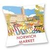 Star Editions Sofakissen Norwich Market, Norfolk by Dave Thompson