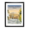 Star Editions Royal Albert Hall, London by Dave Thompson Framed Vintage Advertisement