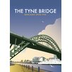 Star Editions The Tyne Bridge, Newcastle Upon Tyne by Dave Thompson Vintage Advertisement
