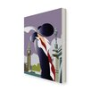Star Editions London Art Deco by Dave Thompson Graphic Art Wrapped on Canvas