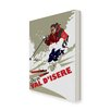 Star Editions Ski in Val D'isere by Dave Thompson Vintage Advertisement Wrapped on Canvas