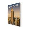 Star Editions Leinwandbild New York Skyline von Dave Thompson, Retro-Werbung