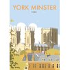 Star Editions York Minster by Dave Thompson Vintage Advertisement