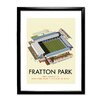 Star Editions Fratton Park, Home of Portsmouth FC by Dave Thompson Framed Vintage Advertisement