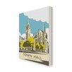 Star Editions Manchester Town Hall by Dave Thompson Vintage Advertisement on Canvas