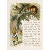 Star Editions Poster Alice's Adventures in Wonderland, Grafikdruck von Sir John Teniell