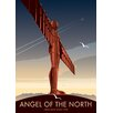 Star Editions Angel of the North by Dave Thompson Vintage Advertisement